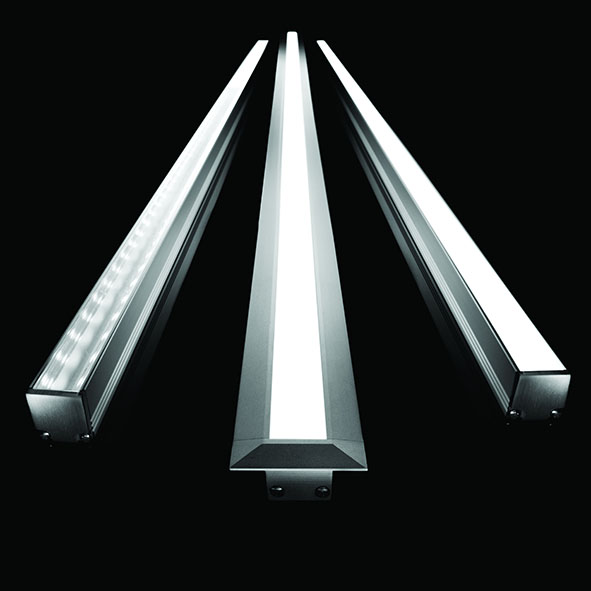 Commercial lighting products from europe in and outdoor Exterior linear led lighting
