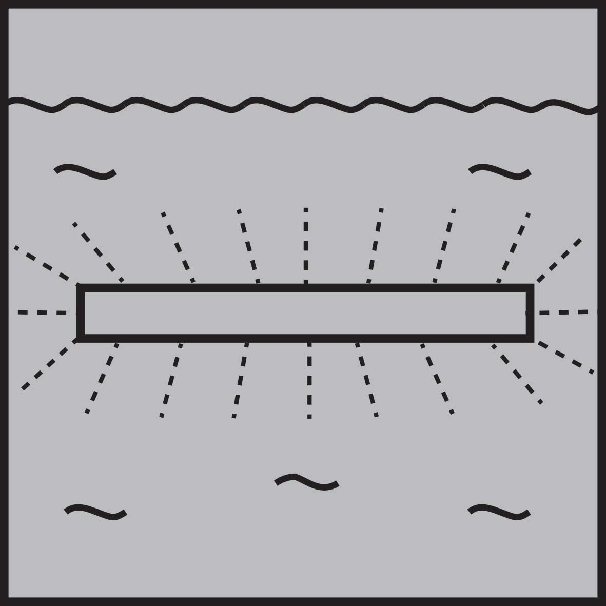 underwater linear light