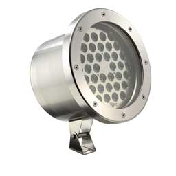 large LED flood lights round WIBRE