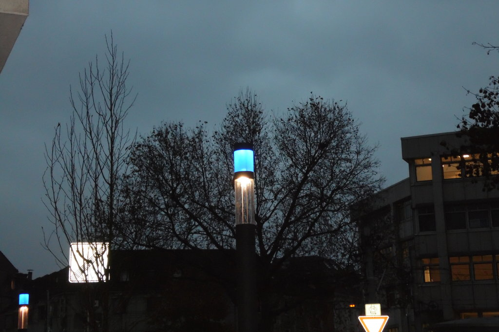 City Elements with Deco ring: Smart multi-functional Lighting Poles