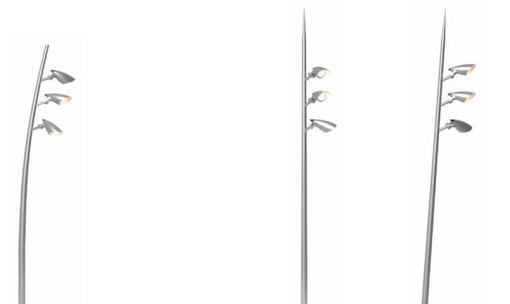 Arini poles Multi-functional designed outdoor Lighting